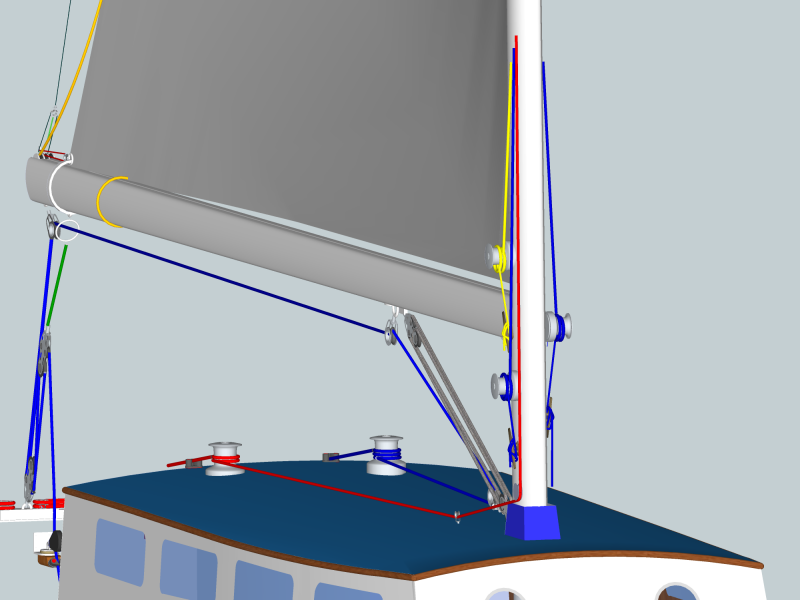 How high should I put my winches on the mast? - Sailing